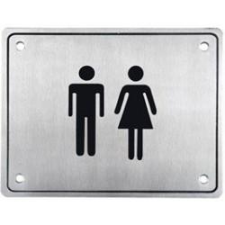PLACA WC HOMBRE / MUJER