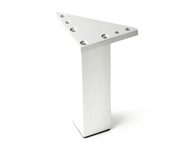 patas aluminio para muebles