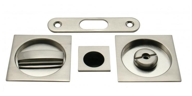 kit para puerta corredera cuadrado con condena