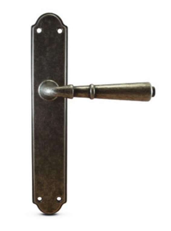 manivelas con placa mod 2703 00 niquel rustico
