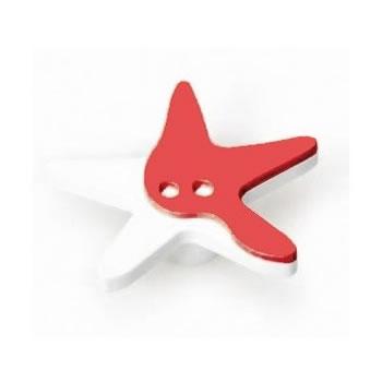 Pomo para mueble infantil forma estrella